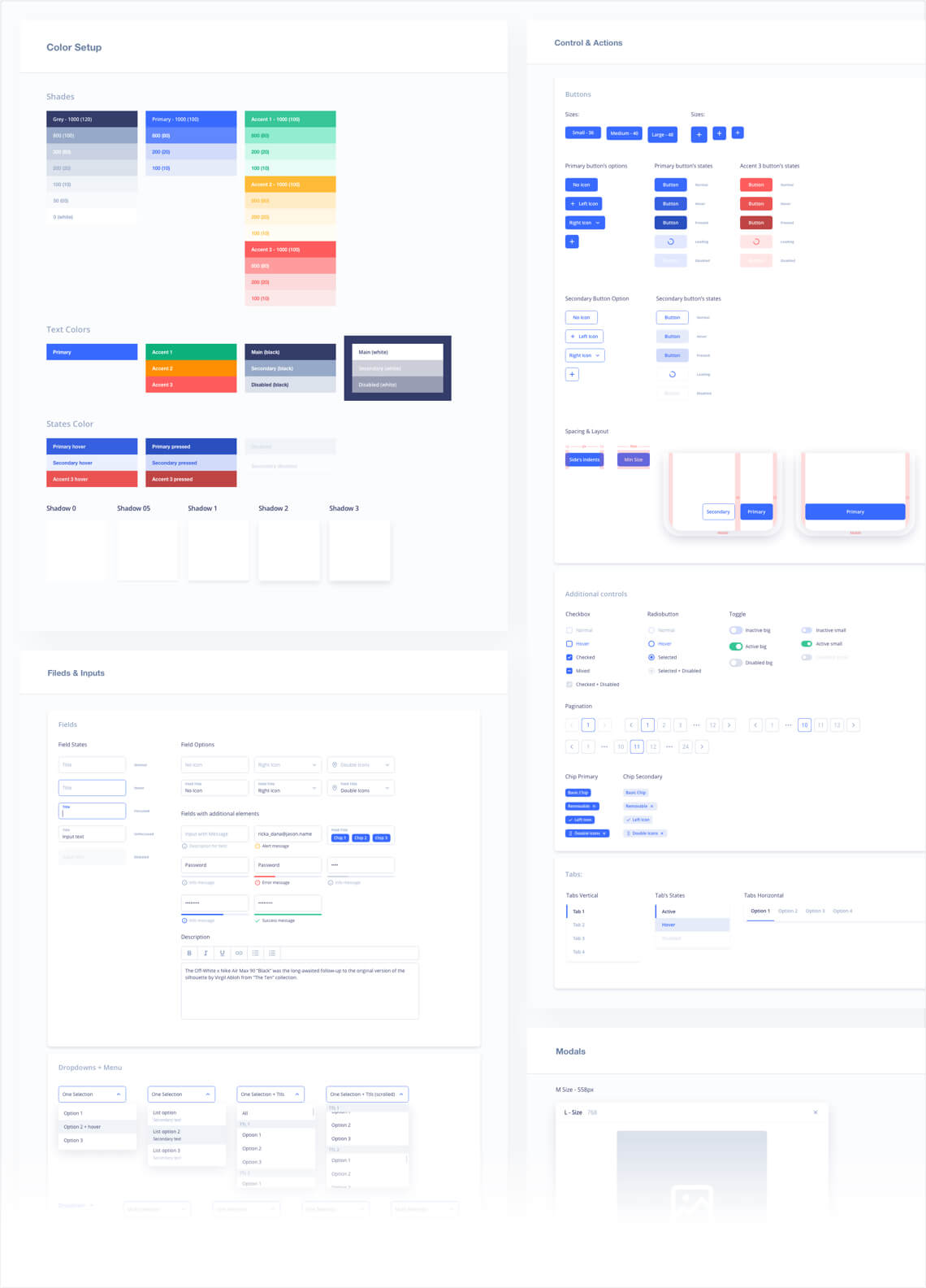 UI Kit and Style guide