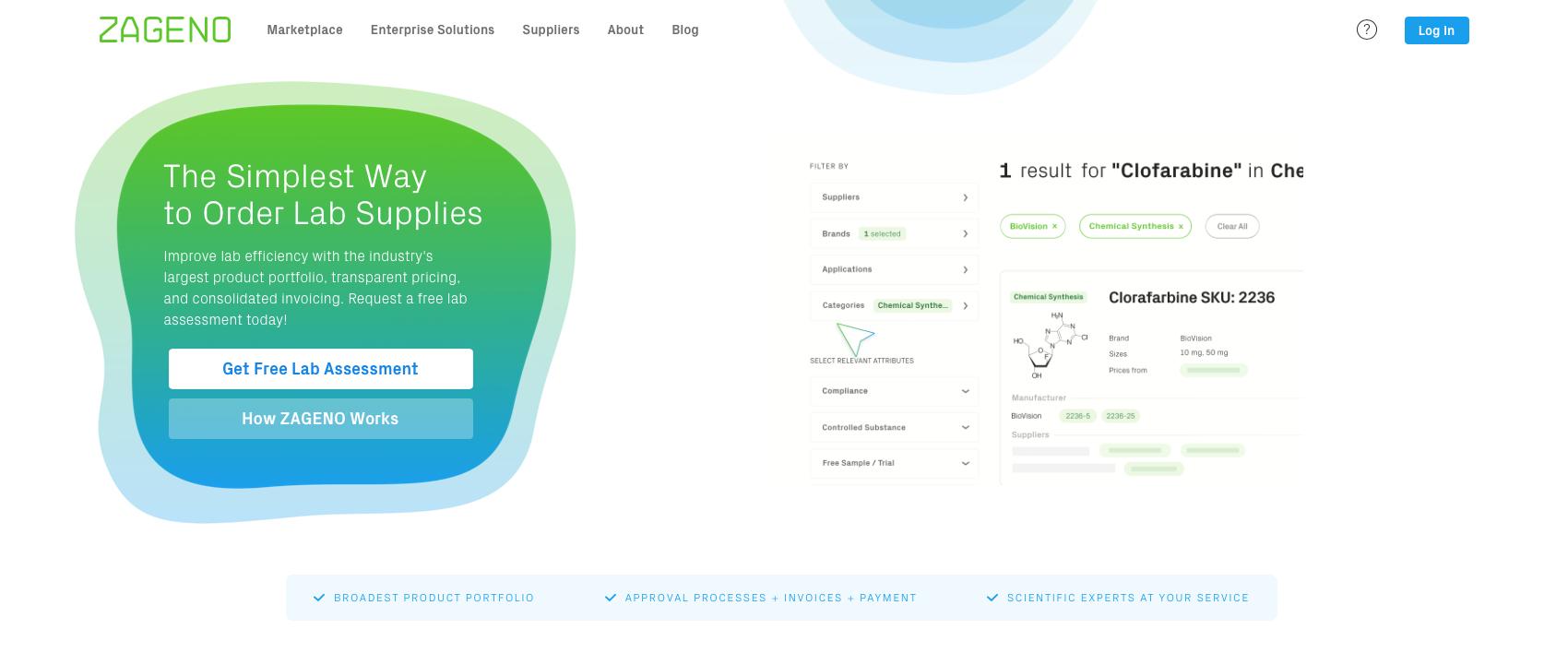 Zageno website