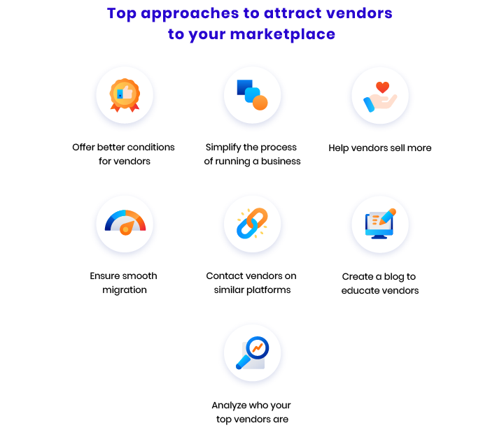 how to attract vendors to your marketplace